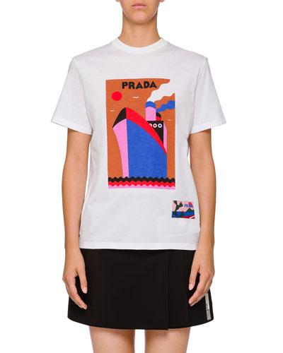 Short-Sleeve Logo Graphic T-Shirt