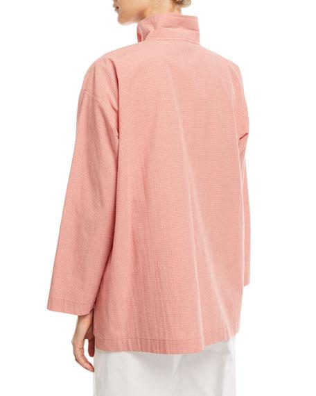 Slim A-Line Check Shirt