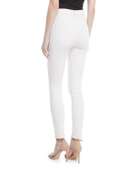 Tori High-Waist Denim Skinny Jeans