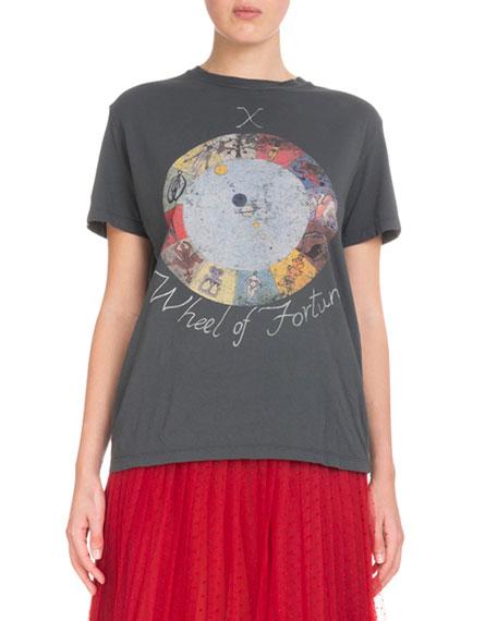 """Wheel of Fortune"" Tarot T-Shirt"