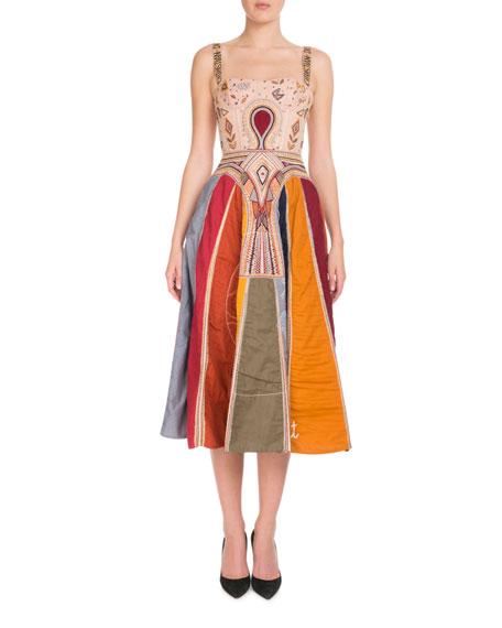 """""""Judgement"""" Tarot Bustier Gown"""