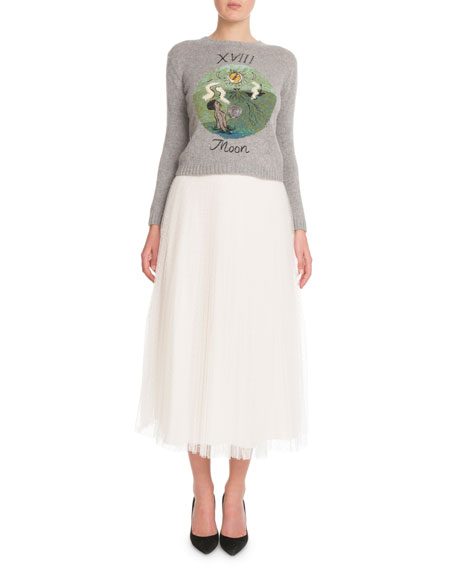 "Cashmere ""Moon"" Tarot Sweater"