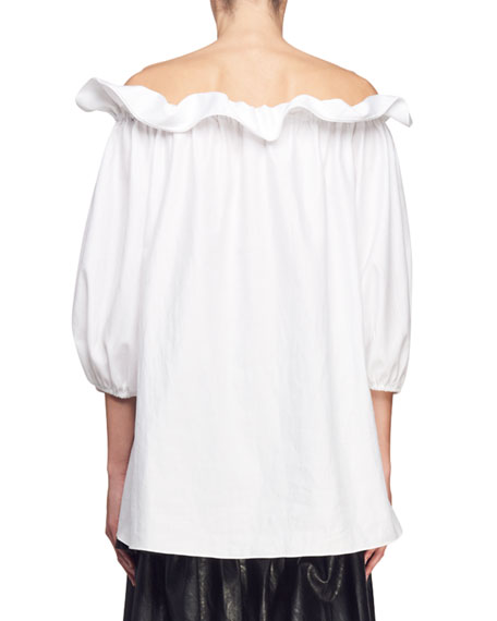 Off-the-Shoulder Tunic Top