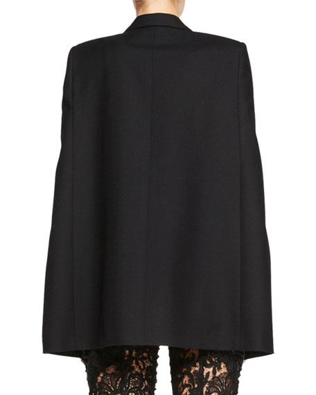 Tuxedo Cape Jacket