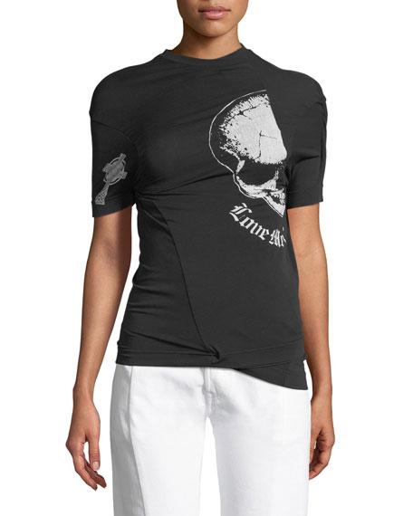 Emo Asymmetric T-Shirt
