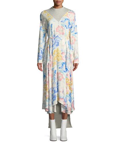 BACK PANEL DRESS