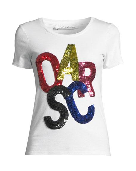 Sequined Oscar T-Shirt