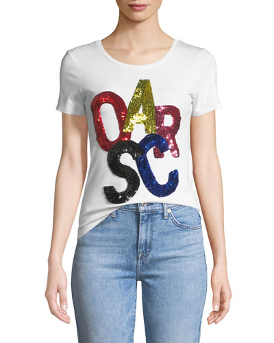 Sequined Oscar T-Shirt