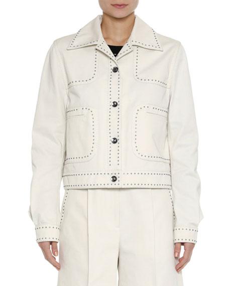 Studded Canvas Jacket
