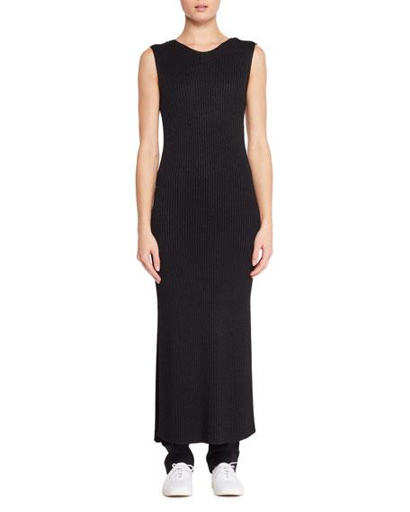 Ameris Sleeveless Knit Long Tunic Dress