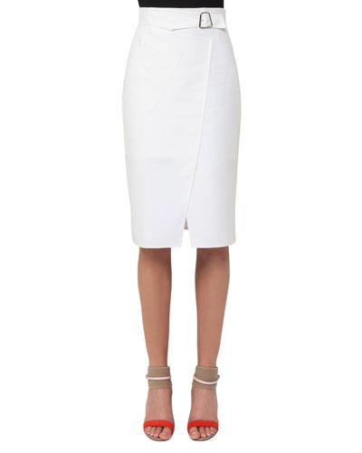 Double-Face Wrap Skirt