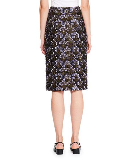 Tahira Fil Coupe Pencil Skirt