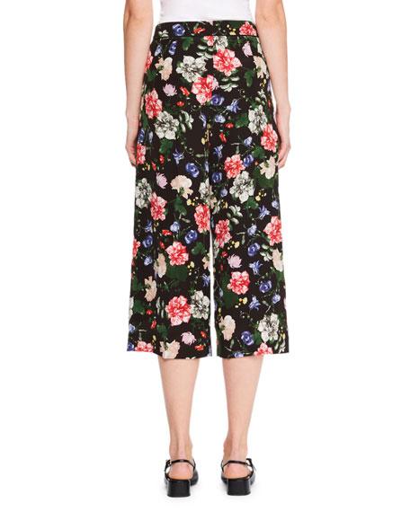 Beatrix Floral Silk Culottes