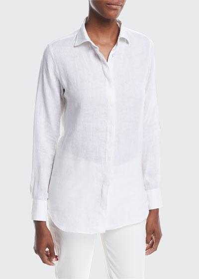 Kara Solaire Delave Linen Shirt