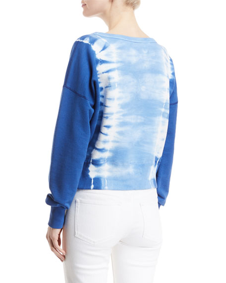 Crewneck Tie-Dye Sweatshirt
