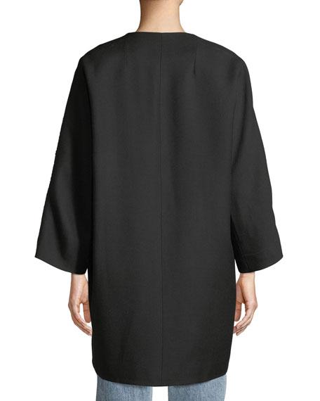 Beaded-Stripe Opera Coat