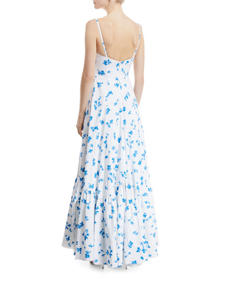 Carlita Floral-Print Maxi Dress