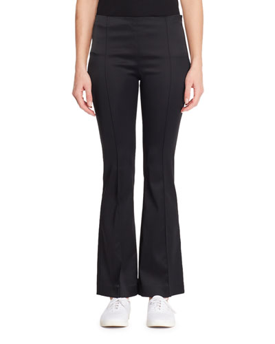 Beca Pintuck Flared-Leg Pants