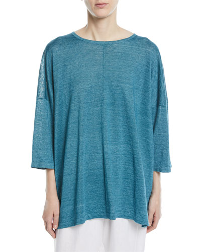 Wide Short-Sleeve T-Shirt