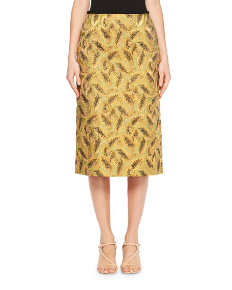 Supra Leaf Jacquard Skirt