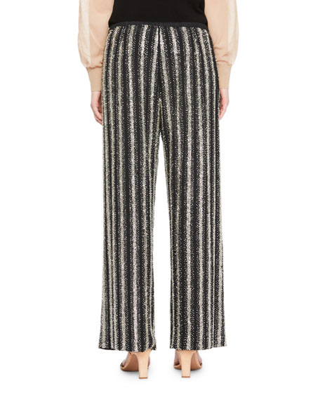 Puvis Metallic Knit Pants