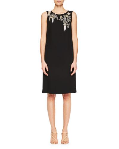 Debeo Embellished Cocktail Dress