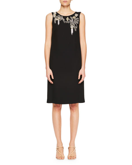 Debeo Embellished Cocktail Dress