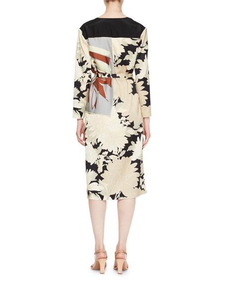 Dolomi Kimono Tie-Waist Dress