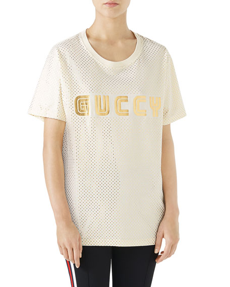 0f03cd14 Gucci GUCCY Logo T-Shirt