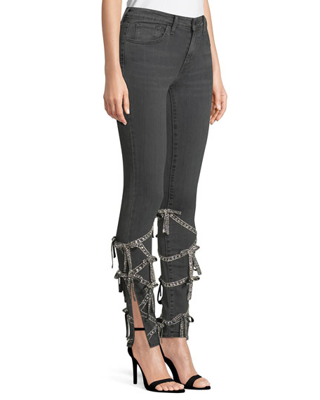 Levi Jeans with Swarovski® Crystal Bows