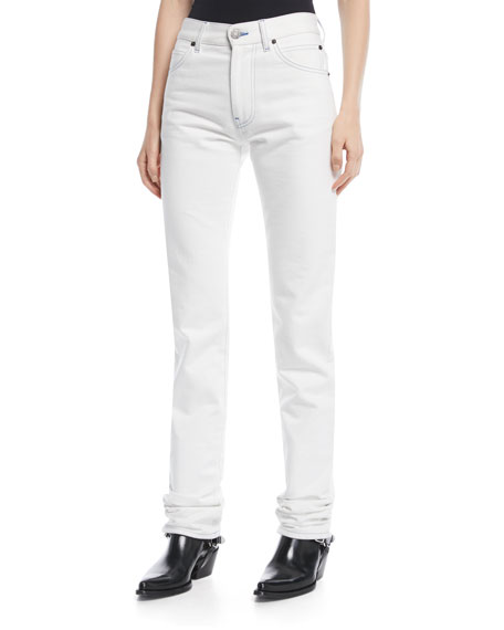 CALVIN KLEIN 205W39NYC Straight-Leg Denim Pants