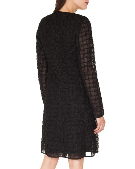 Tinka Square Embroidered Evening Jacket