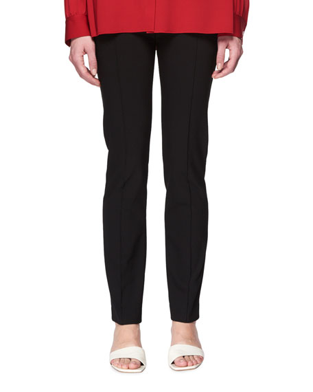 Tao Straight-Leg Stretch-Cotton Pants
