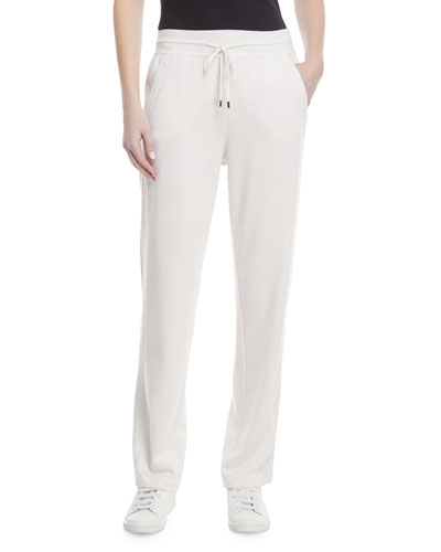 Baby Cashmere Pull-On Jogger Pants
