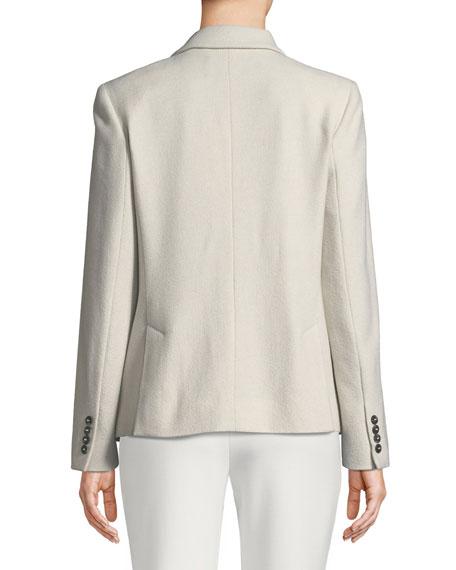 Palude Single-Breasted Cashmere Jacket