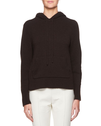 Hooded Cashmere Sweatshirt