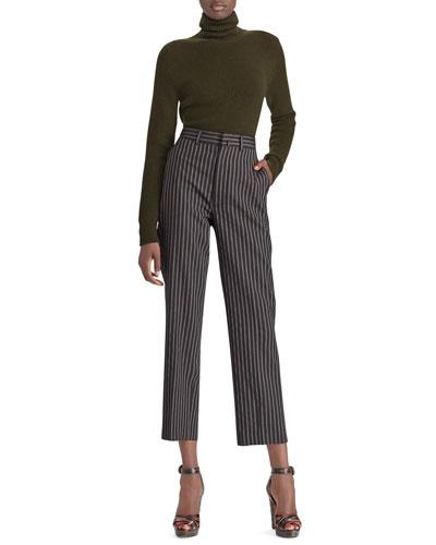 50th Anniversary Pullover Cashmere Turtleneck Sweater
