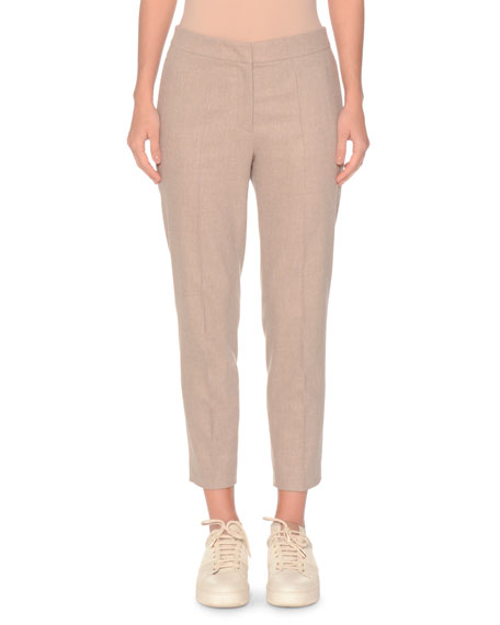 WOOL-CASHMERE SPORTY PANTS