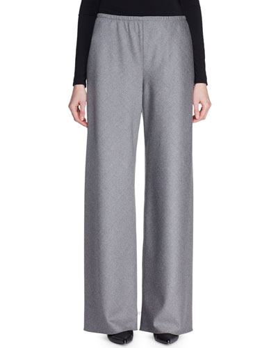 Gala Wool Wide-Leg Pants