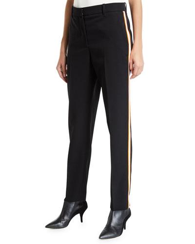Wall Street Side-Striped Pants
