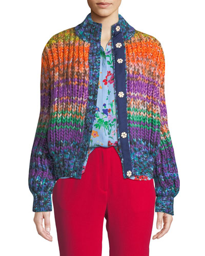 Jagger Multicolor Wool-Cashmere Sweater