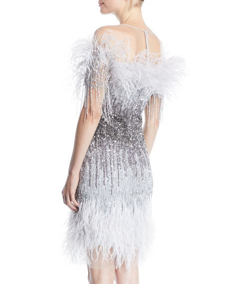 Ostrich Feather Dress