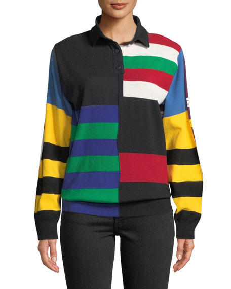 JW Anderson Rugby Knit Sweater