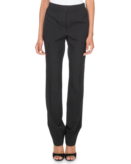 Givenchy Stretch-Waist Tux Pants