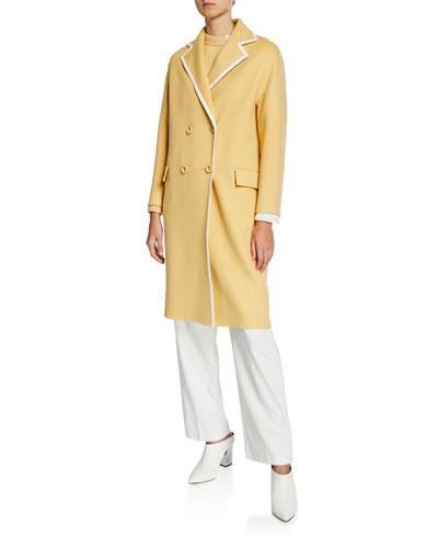 Charel Cashmere Long Coat