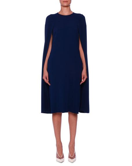 878b8fbf03df Stella McCartney Cape-Back Cady Sheath Dress