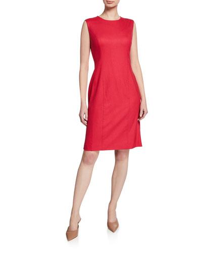 Stretch Cashmere Sleeveless Dress