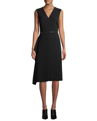 Robin Sleeveless Belted Dress