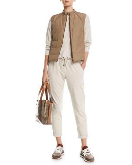 Spa-Cotton Monili-Pocket Jogger Pants