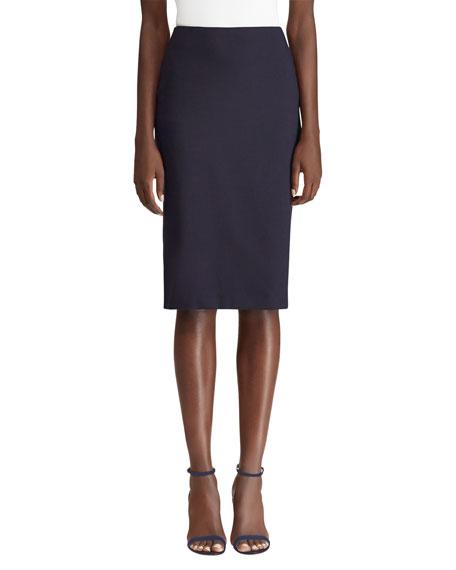 Ralph Lauren Collection Cindy Wool Pencil Skirt